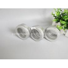 150g de alumínio cosméticos Wax embalagem frasco com tampa da janela (PPC-ATC-083)