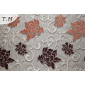 Цветок полиэстер Синель шаблон ткани диван (fth31951)