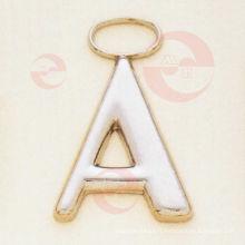 """Lettre - """"A"""" Tirette / curseur pour accessoires de sac (G8-159A)"""