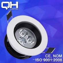 Novo modelo 3W LED Spot de alumínio leve
