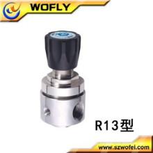 """Regulador de pressão de gás ajustável de 1/4 """"NPT CO2 / ARGON"""