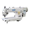 La máquina de coser industrial de la puntada de cadeneta de la alimentación compuesta superior e inferior de la impulsión directa DT 0313-D3 de la impulsión directa