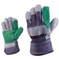 Corte Resistentes Leather Safety Trabalhadores Luvas de Trabalho