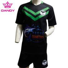 Última camiseta de rugby de equipo de varios estilos para hombres