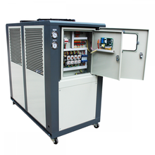 máquina de enfriamiento industrial del sistema de enfriamiento enfriado por aire