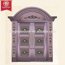 Radius Design Haupttor der zweiflügeligen, kommerziellen oder Wohn-Bronze Tür