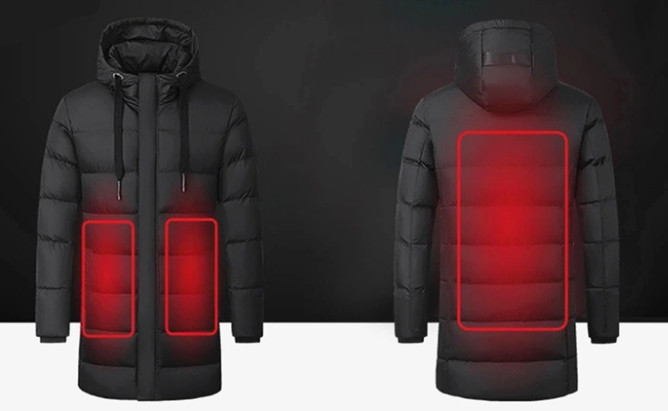 Heated Coat Mens