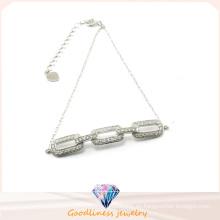 Factory Las últimas 925 pulseras y brazalete de plata de la mujer de la joyería Bt6571