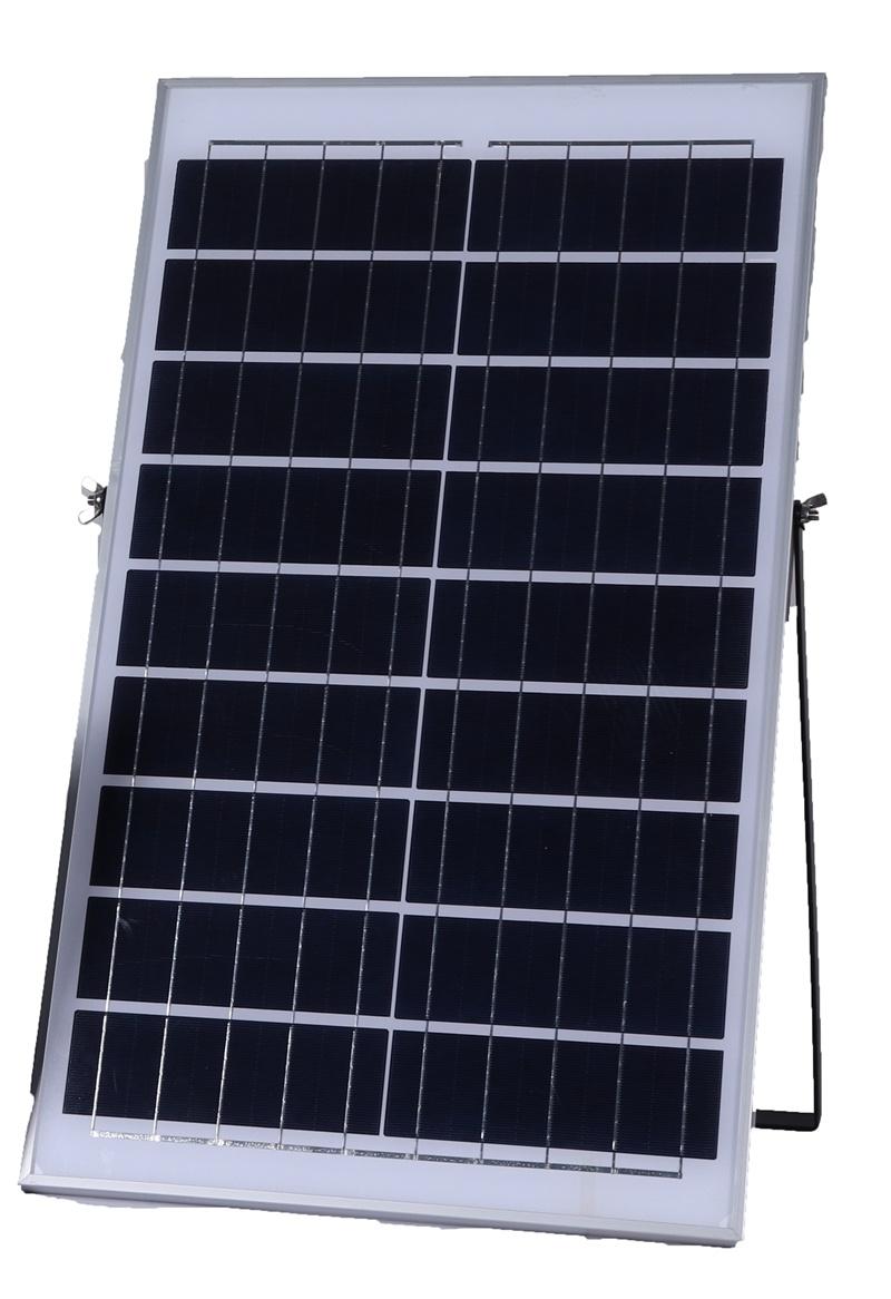 flood light solar panel