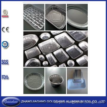 Contenants pour aliments en aluminium Foil