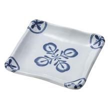Melamine Square Plate/Modern Blue Plate/Melamine Dinnerware (DCA77)