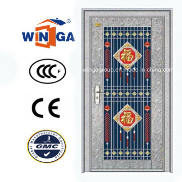 Exterior Using Stainless Steel Security Glass Door (W-GH-20)