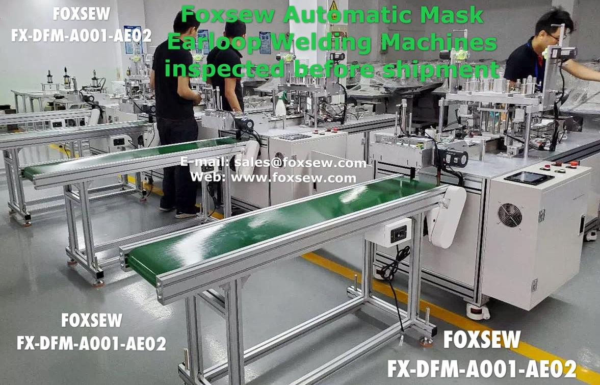 Automatic Mask Earloop Welding Machines FX-DFM-A001-AE02 -1