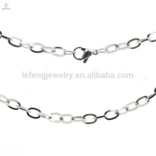 2015 stainless steel fashion jewelry necklace chain wholesale for women