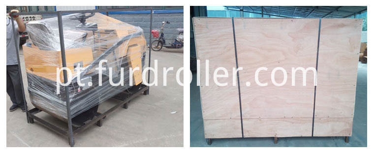 1 ton road roller package