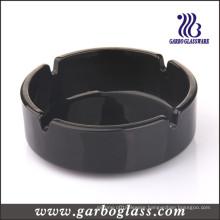 105mm Black Glass Ashtray (GB2604005B)