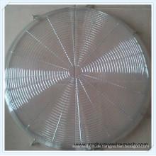 AC / DC 200 mm Edelstahl-Lüfterschutz
