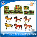 Wholesale plastic animal figurines horse for sale in 2014