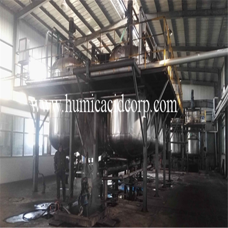 Nitro Humic Acid Powder / Granule Base fertilizer For Soil