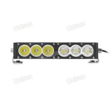 """Barra de luces LED todoterreno 4x4 de una hilera de 11 """"y 60 W"""