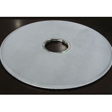 Disque filtrant en métal poreux fritté en acier inoxydable 316L