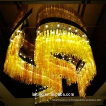 Diseñador de decoración de hotel, iluminación moderna de China