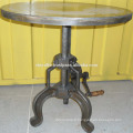 Table manivelle industrielle
