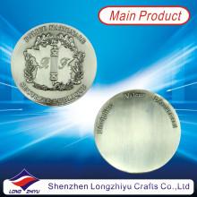 Moneda en blanco brillante de la moneda del estaño con el precio barato (LZY1300042)