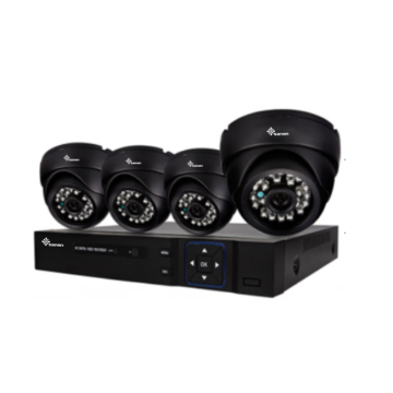 Kit de DVR AHD de 12V 1080P con lente de 3.6 mm