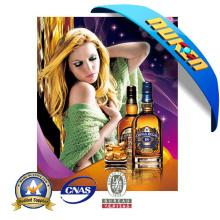 Cartel de publicidad lenticular 3D