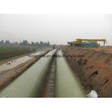 Água interurbana que transporta a tubulação de FRP / GRP