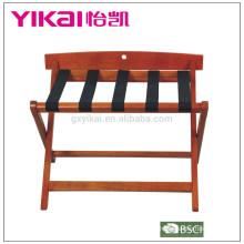 Porta-bagagens em madeira maciça de venda superior