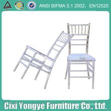 Transparent Clear Chiavari Chair for Banquets
