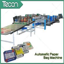 Máquina de alta economia de energia do saco de papel de cimento