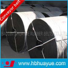 Correia transportadora de aço resistente ao calor do cabo para a planta do cimento