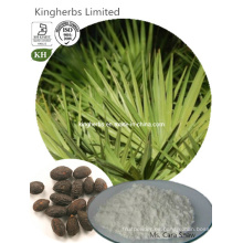 Inhibición de la hiperplasia prostática Saw Palmetto Extract Fatty Acids 35%