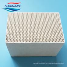 Cordierite heat storage honeycomb ceramic 150x150x300mm