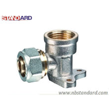 Brass Fittings Wall Plated/Copper Fitting/Female Elbow