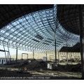 Light Steel Structure Space Frame Roofing with Large Span for Water Park