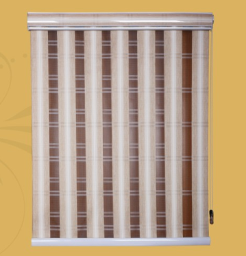 Vertical D&N Zebra Blinds