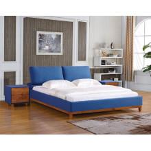 Mobiliário de quarto de madeira sólida moderno