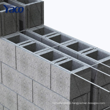 YACHAO black wire mesh for brick wall reinforced Rebar welded Mesh Panels