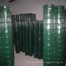 Precios de malla de alambre soldada con autógena galvanizada sumergida caliente o pvc caliente