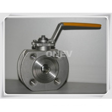 Thin Type Wafer Flange End Ball Valve (Q65N-150LB)