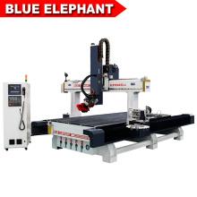 Carrousel tipo automático 12 herramientas cambian husillo cnc para 3d 4d escultura de madera