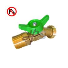 Tuyau en laiton sans plomb NSF Bibb avec filetage FIP x filetage pour tuyau