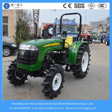55HP Utilisation de l'agriculture 4 roues motrices Farm / Mini / Lawn / Compact / Small / Wheel / Garden Tractor
