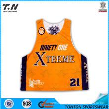 Dye Sublimated Team Lacrosse Reversible Jerseys