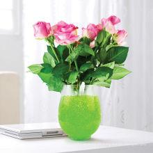 Suelo cristalino de agua para relleno de florero