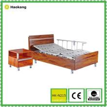 Cama de madera del hospital para el equipo médico eléctrico ajustable (HK-N215)